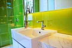 De faciliteit van het toilet Stock Foto
