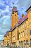 De Faculteit van Wet van de Universiteit van Maastricht in Nederland royalty-vrije stock fotografie