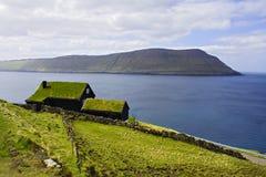De Faeröer Stock Fotografie