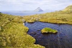 De Faeröer Royalty-vrije Stock Foto's