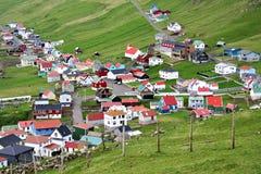 De Faeröer Stock Afbeelding
