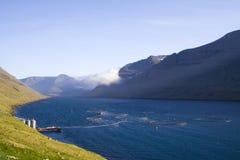 De Faeröer Stock Foto's