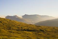 De Faeröer Stock Afbeeldingen