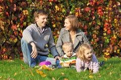 De familie Stock Afbeelding