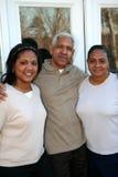 De Familie van de minderheid Royalty-vrije Stock Afbeelding