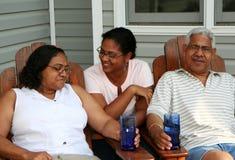 De Familie van de minderheid Royalty-vrije Stock Fotografie