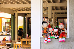 De familie van Doll Royalty-vrije Stock Fotografie