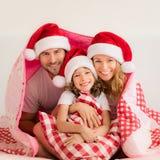 De Familie van Kerstmiskerstmis Vakantie de Winter Royalty-vrije Stock Fotografie