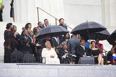 De Familie van Martin Luther King Stock Foto