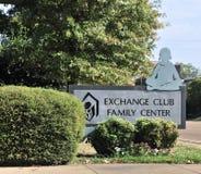 De Familiecentrum Memphis, TN van de uitwisselingsclub Stock Foto's