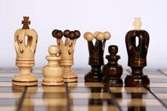 De families van het schaak Royalty-vrije Stock Afbeelding