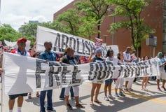 De Families van Minneapolis behoren samen Maart royalty-vrije stock afbeelding