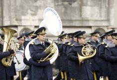 De fanfare van het leger Stock Fotografie