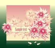De fantasie van bloemen Royalty-vrije Stock Afbeeldingen