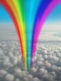 De Fantasie van de regenboog Stock Afbeelding