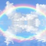 De Fantasie van de regenboog vector illustratie