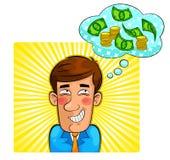 De fantasie van het geld Stock Foto's