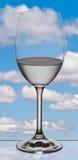 De fantasiewolk van het glas Stock Afbeeldingen