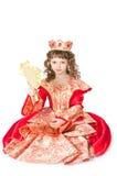 De fantastische prinses Royalty-vrije Stock Afbeeldingen