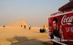 Is de Farao dorstig? stock afbeeldingen