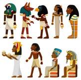 De faraopictogram van het beeldverhaal Royalty-vrije Stock Foto