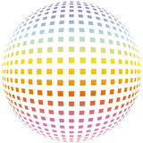 De farb-rooster van de rand Royalty-vrije Stock Afbeelding