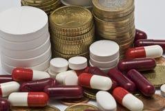 De farmaceutische industrie. Stock Foto's