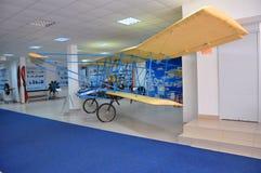 ` De Farman-IV de ` d'avion de formation dans le musée de l'Armée de l'Air d'exposition dans Monino Région de Moscou, Russie Photos stock