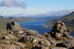 De Faro öarna Royaltyfri Fotografi