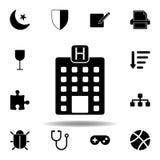 De fasepictogram van de maanster De tekens en de symbolen kunnen voor Web, embleem, mobiele toepassing, UI, UX worden gebruikt vector illustratie