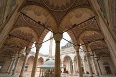 De Fatih Moskee, Istanboel, Turkije. Stock Afbeeldingen