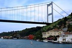 De Fatih Sultan Mehmet Bridge stock foto's