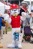 De featival mascottes van Paw Patrol stock foto
