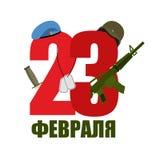 23 de febrero Boina azul y casco militar Tocado del ejército solenoide