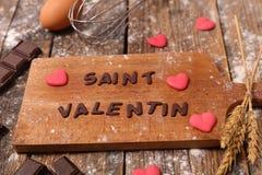 14 de febrero, día del ` s de la tarjeta del día de San Valentín Imagenes de archivo