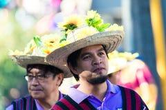 27 de febrero de 2015 Baguio, Filipinas Baguio Citys Panagbenga F Foto de archivo