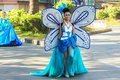 27 de febrero de 2015 Baguio, Filipinas Baguio Citys Panagbenga F Foto de archivo libre de regalías
