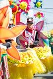 27 de febrero de 2015 Baguio, Filipinas Baguio Citys Panagbenga F Fotos de archivo
