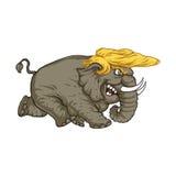20 de febrero de 2017 Ejemplo Donald Trump Foto de archivo libre de regalías