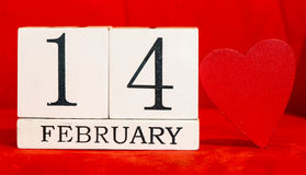 14 de febrero fondo Imagenes de archivo