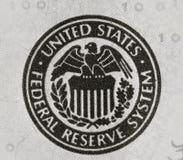 De federale reserve van Verenigde Staten Royalty-vrije Stock Fotografie