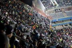 De Federaties van FIFA vormen 2009 tot een kom - Menigten stock afbeelding