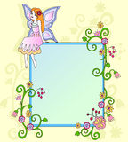 De fee van de bloem Stock Afbeeldingen
