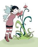 De fee van de bloem Vector Illustratie