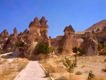 De feeschoorsteen van Cappadociaturkije Stock Fotografie