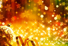 De feestelijke achtergrond van het nieuwjaar Stock Foto's
