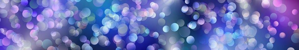 De feestelijke achtergrond van het Nieuwjaar Mooie bokeh Royalty-vrije Stock Afbeelding