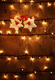 De feestelijke achtergrond van Kerstmis Royalty-vrije Stock Foto's