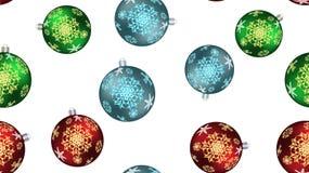 De feestelijke mooie textuur van de Kerstmiswinter, gift die een naadloos patroon verpakken voor het Nieuwjaar van multicolored r stock illustratie