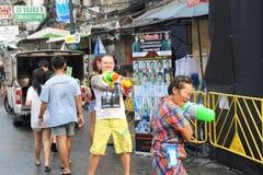 Thais Nieuwjaar - Songkran Royalty-vrije Stock Afbeelding